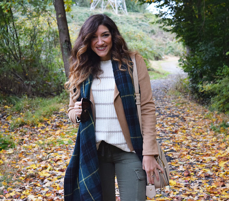 Fall Staple – Preppy Plaid Scarf